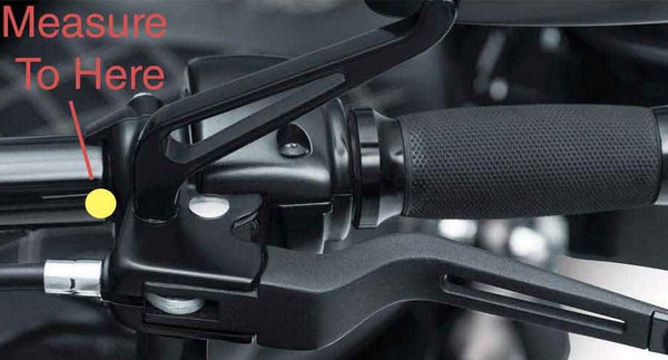 How to measure motorcycle handlebar cable length clutch lever