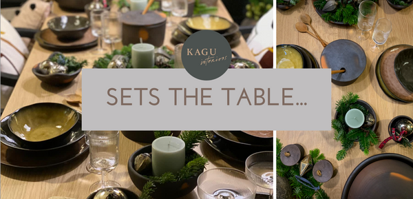 KAGU interior store - christmas-table