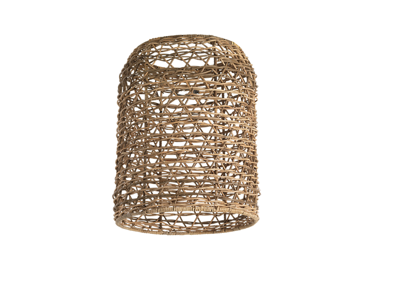 Small Cylinder Rattan Lampshade