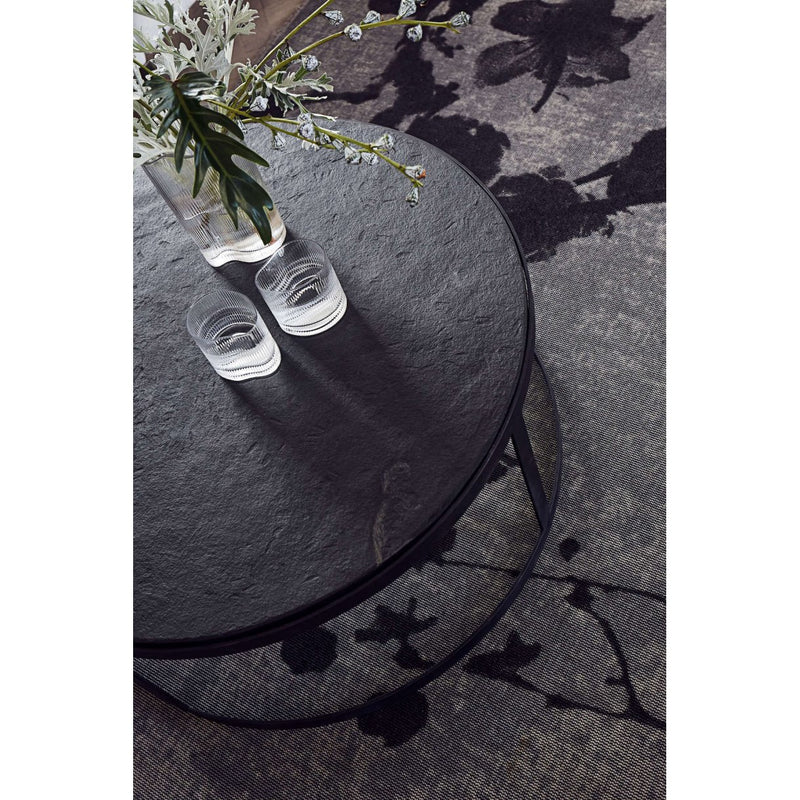 Iron and Stone Coffee Table - Low & High