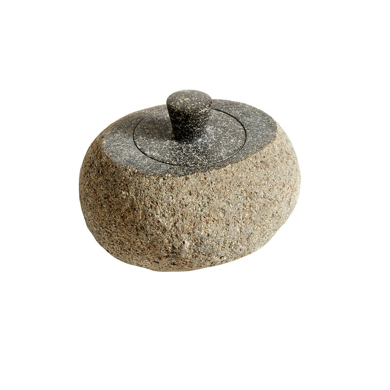Valley Riverstone Jar with Lid