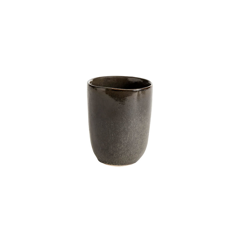 Mame Ceramic Cup - Coffee & Oyster