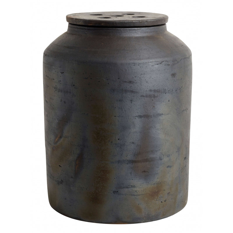 Hazel Lidded Jar - Small & Large