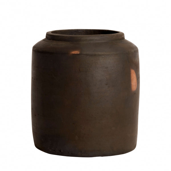 Small Hazel Terracotta Jar