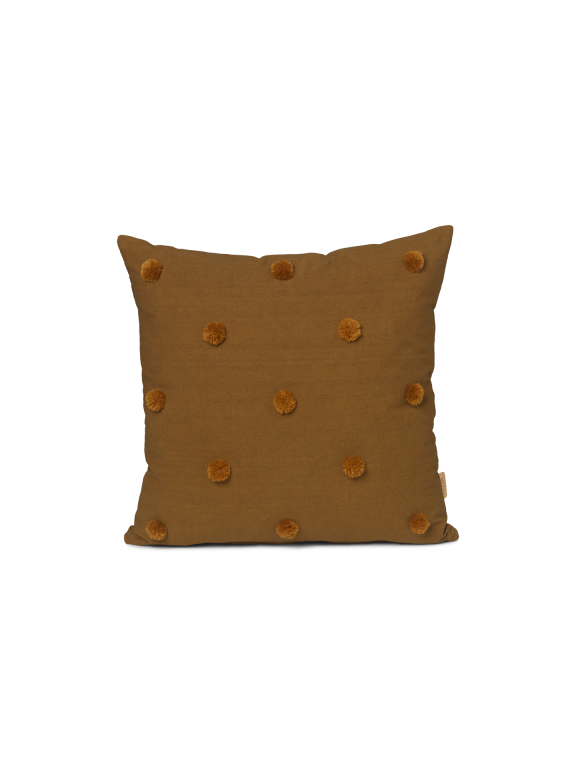 Dot Tufted Cushion in Sugar Kelp