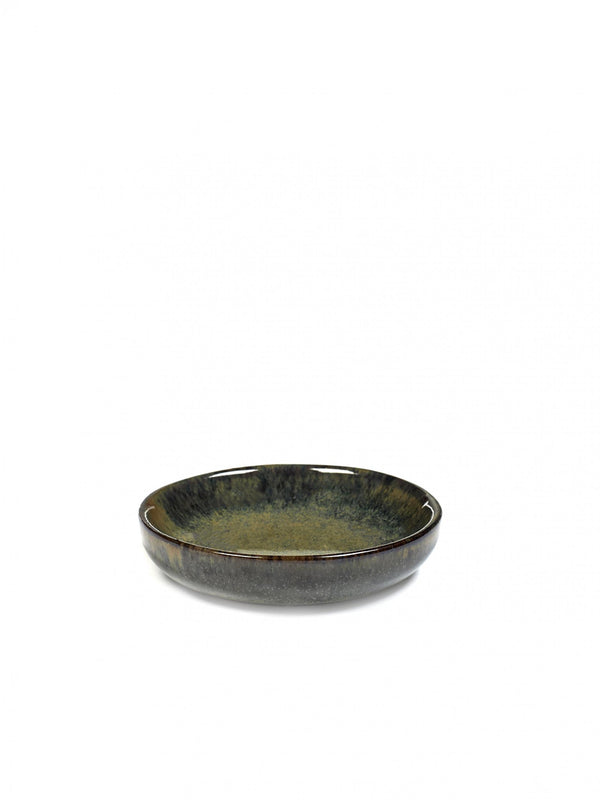 Stoneware Indi Surface Saucer Plate
