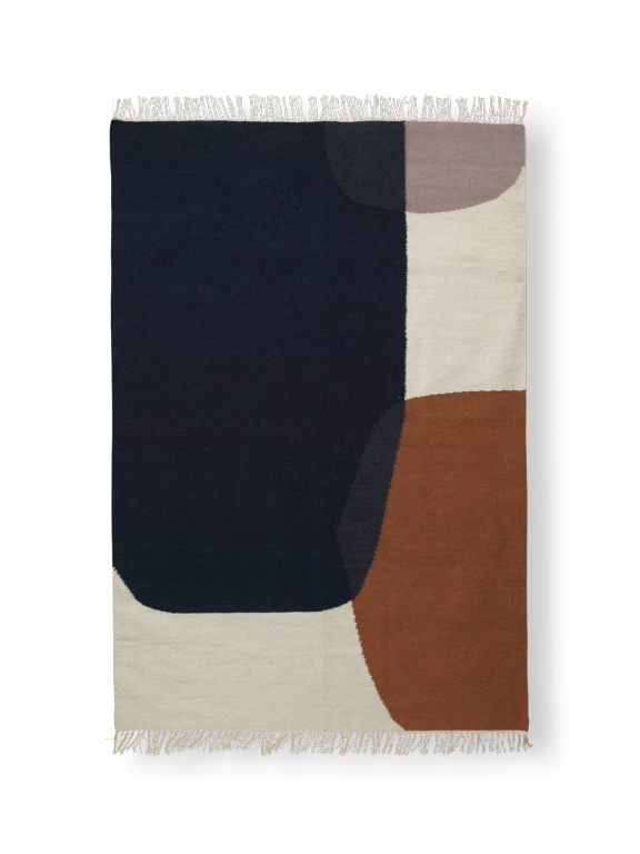 Kelim Rug in Merge Pattern - Various Sizes
