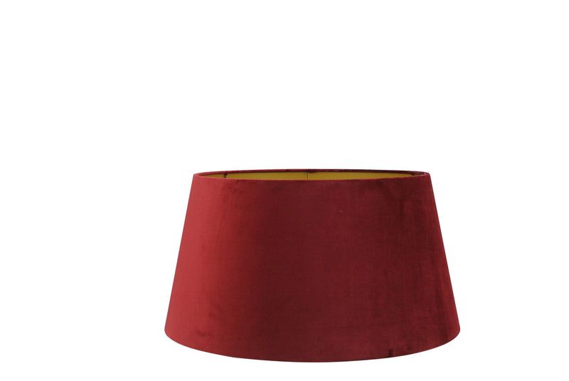 Large Handmade Velvet Lampshade with Gold Lining - Bordeaux, Old Pink or Aubergine
