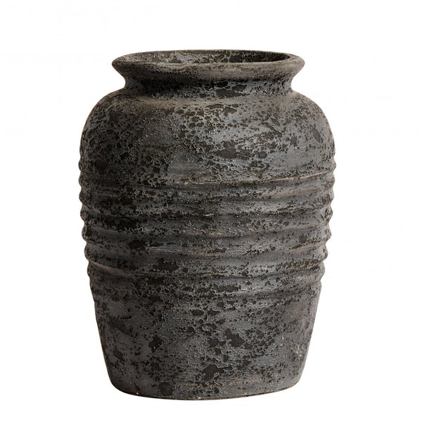 Medium Melancholia Charcoal Vase Jar Pot 40