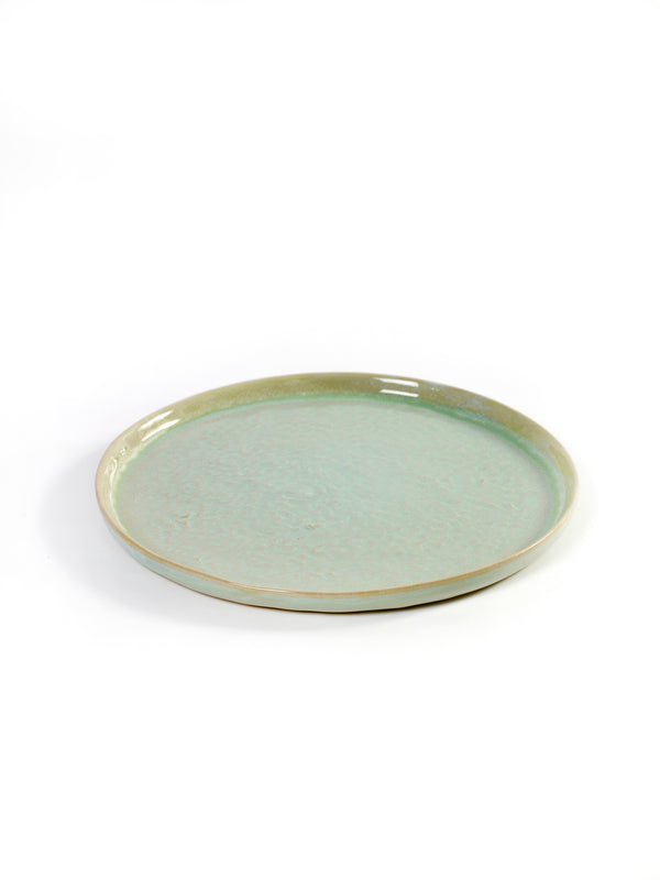 Stoneware Aqua Green Pure Plate - small