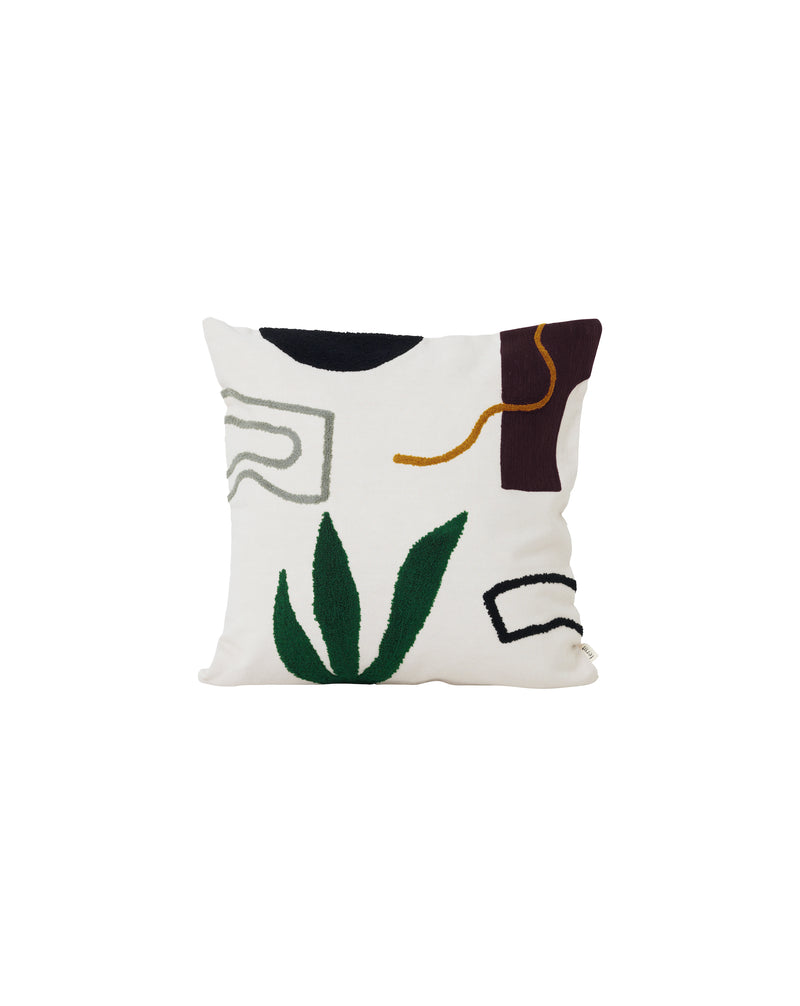 Mirage Cushion in Gate, Leaf, Cacti or Island