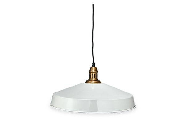 Pendant Light in Off White - Small & Large