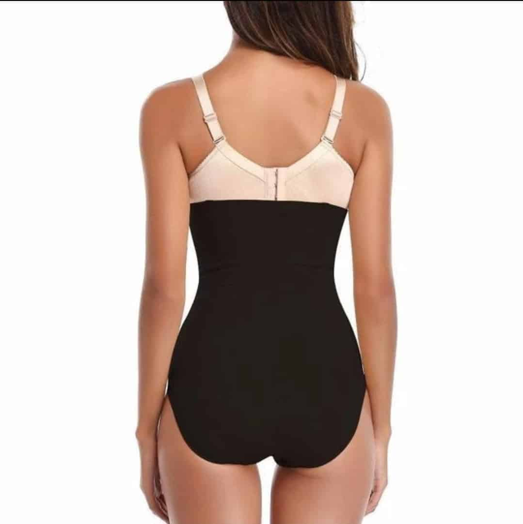High-Waisted Boned Tummy Control Shaper Panty - 2one2 Apparel