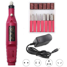 Load image into Gallery viewer, Professional Electric Nail Drill Machine Set with Ceramic Drill Tools