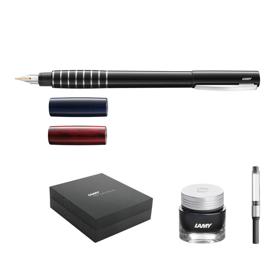 Brilliant xMas: LAMY accent brillant ld Set