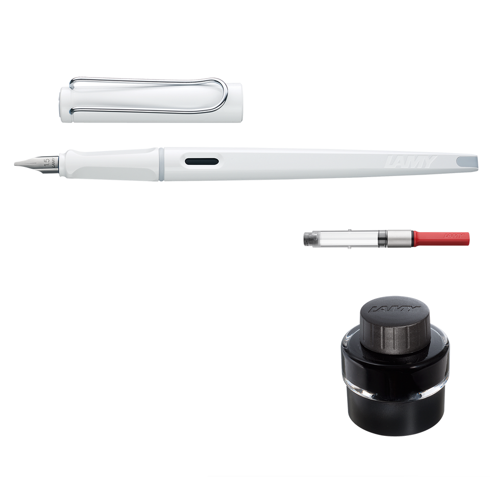 Wintermärchen: Set LAMY joy white + Tinte black