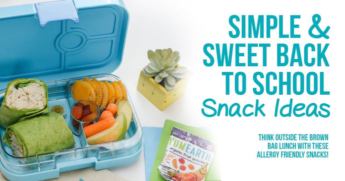 Simple and sweet back-to-school snack ideas