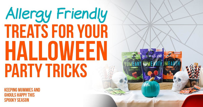 Allergy-friendly treats for your Halloween party tricks