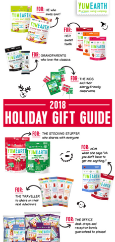 organic candy holiday gift guide