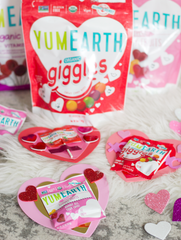 yumearth valentines giggles