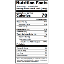 Load image into Gallery viewer, Yumearth-organic sour beans-nutrition fact label