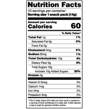 Load image into Gallery viewer, Yumearth-organic giggles-nutrition fact label