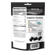 Load image into Gallery viewer, YumEarth-organic gluten free black licorice-back of package