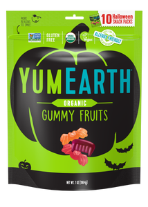 Organic Halloween Gummy Fruits