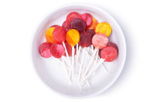 Load image into Gallery viewer, organic assorted flavors vitamin c lollipops