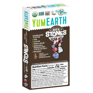 YumEarth-organic roll'n stones-back of package