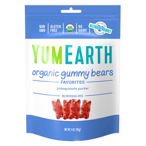 Pomegranate Gummy Bears
