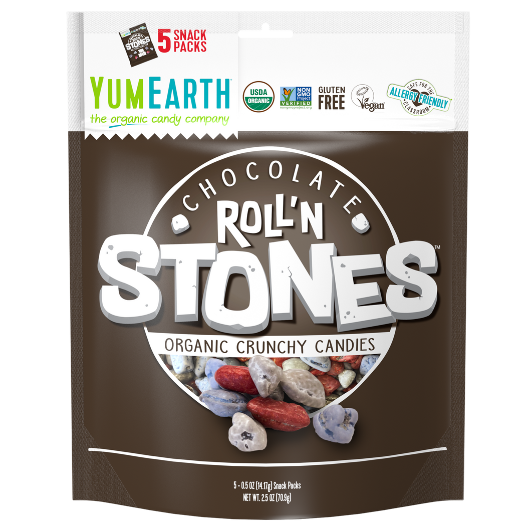 YumEarth-organic roll'n stones-front of package