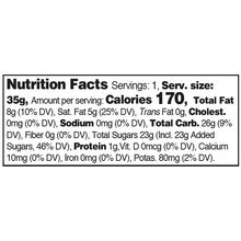 Load image into Gallery viewer, Yumearth-organic roll'n stones-nutrition fact label