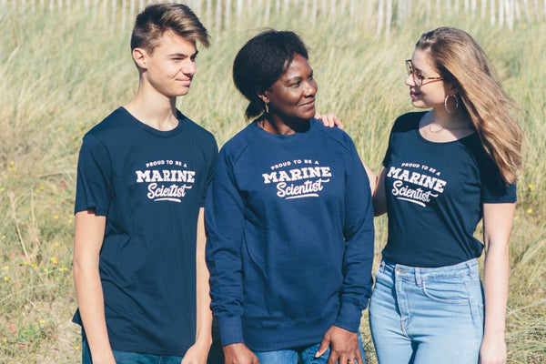 Proud to be a marine scientist dames t-shirt