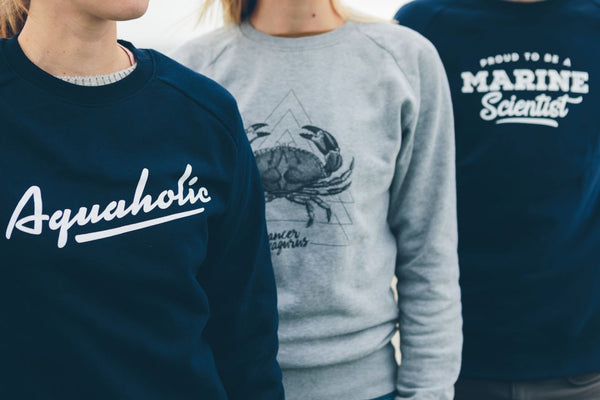 Aquaholic sweater