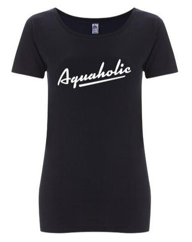 Aquaholic dames t-shirt
