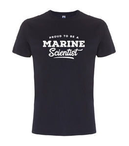 Proud to be a marine scientist heren t-shirt