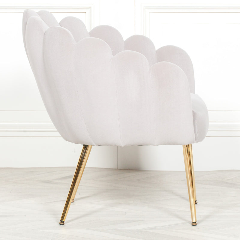 Shell chair Scalloped chair scalloped chair