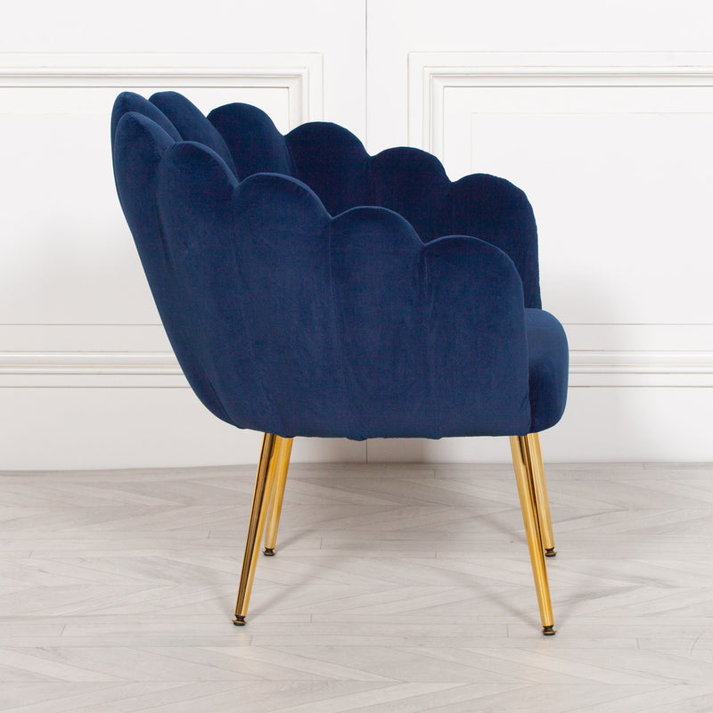 Velvet scallop chair shell chair oyster chair