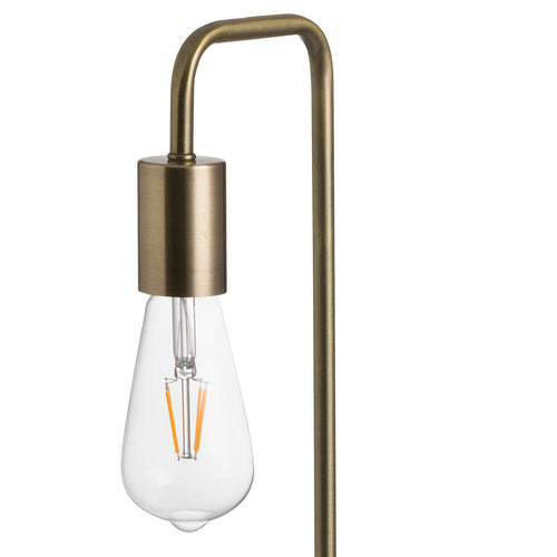 brass and gold industrial desk lamp uk