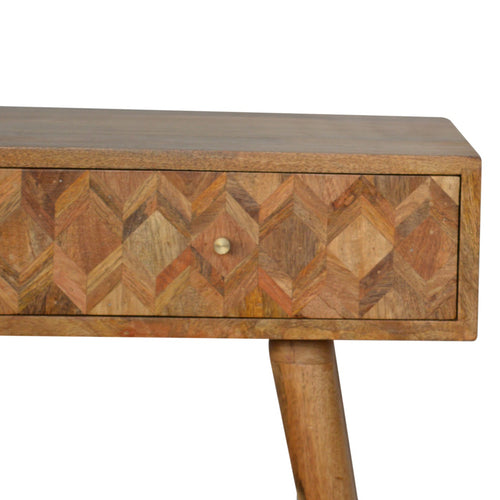 Handmade Scandinavian Style Wooden Console Table