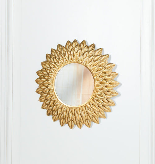 Brass mirror gold mirror ornate wall mirror