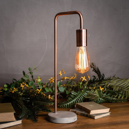 rose gold home accessories copper home accessories rose gold desk lamp stone base industrial desk lamp for sale home accessories for sale online uk