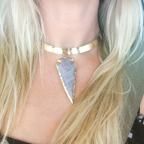 Follow Your Arrow Choker