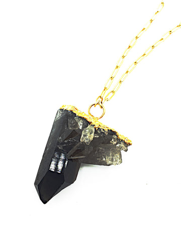 Smokey Quartz One-of-a-kind Necklace