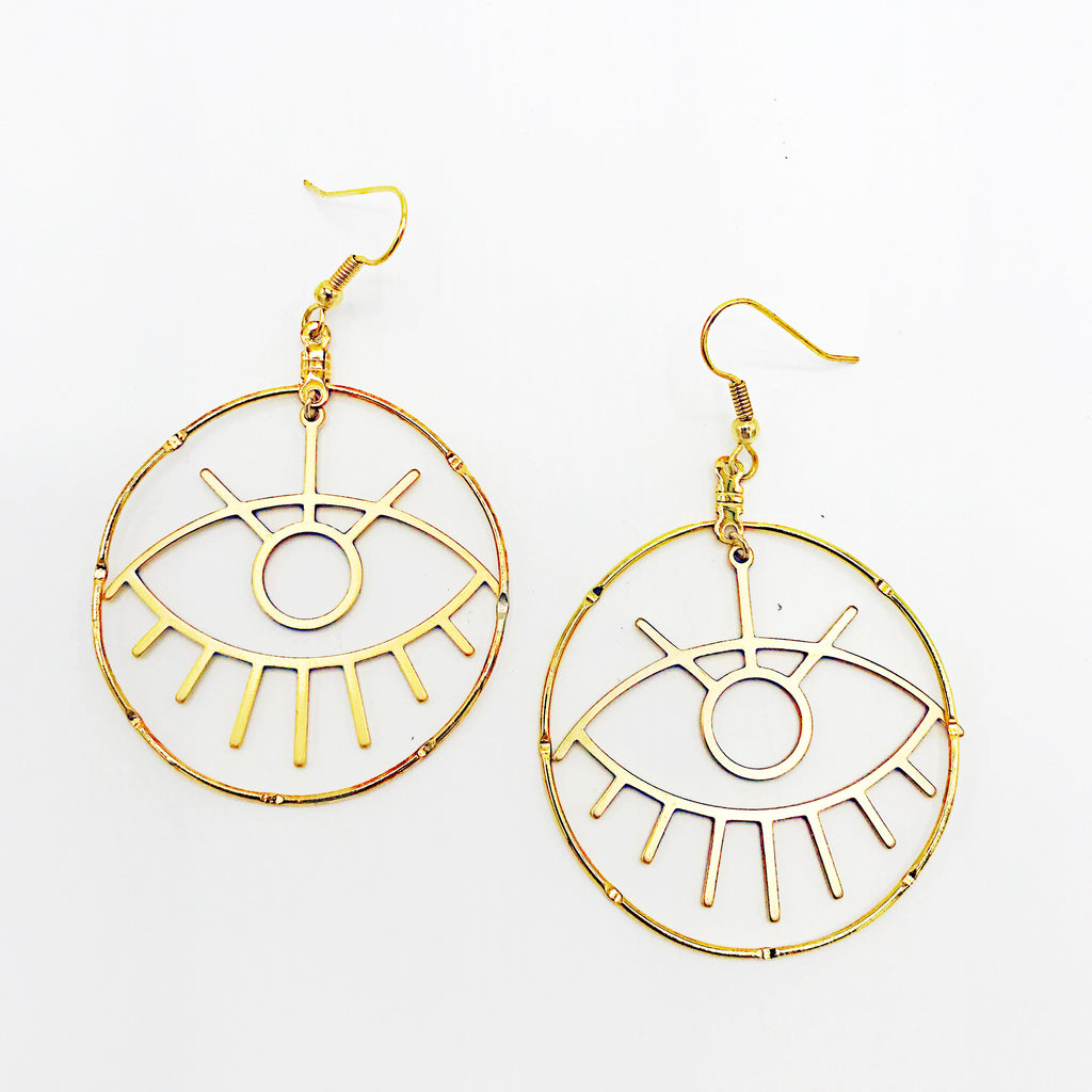 Bright eyes hoops