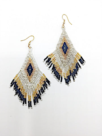 Native Saints beaded earrings