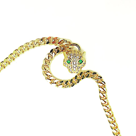 Vintage Panther Necklace