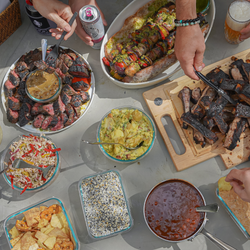 WeFeast Homegating by Marc Forgione (Feeds 6 people)