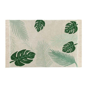 Lorena Canals Washable Rug Tropical Green